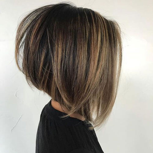 Inverted Bob Straight Hairstyles