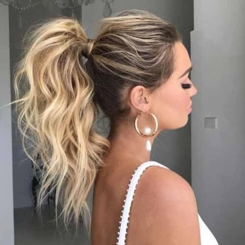 Astonishing 50 Coolest Ways To Sport A Ponytail Hair Motive Hair Motive Natural Hairstyles Runnerswayorg