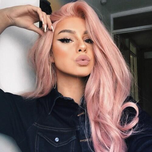 Pastel Pink Hair Colors