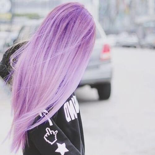 Pastel Purple Hair Colors