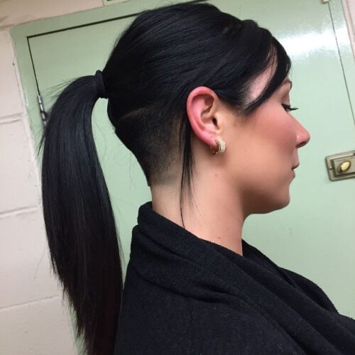 Ponytails with Undercuts
