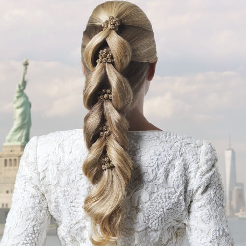 Pull Through Braid Straight Hairstyles
