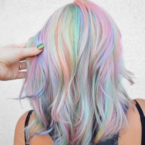 30 Pastel Hair Colors Ideas & Cool Ways to Wear Them | Hair ...