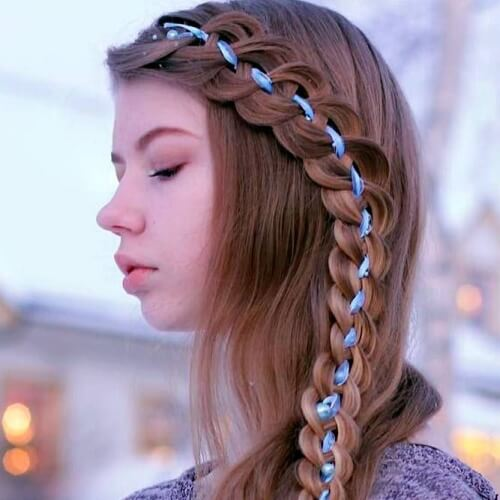Side Braid Hairstyles for Straight Hair