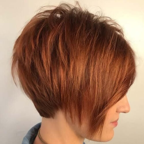 Stacked Bob Hairstyles for Thin Straight Hair