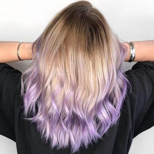 Subtle Pastel Hair Ideas