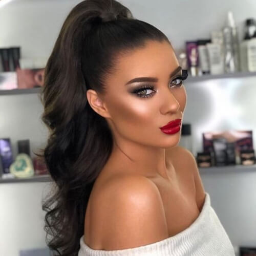 Tight High Ponytail Hairstyles