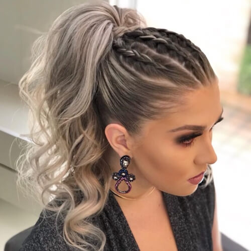 Top Braided Ponytail Hairstyles