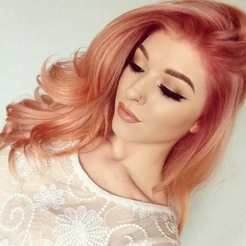 Warm Pastel Hair Colors