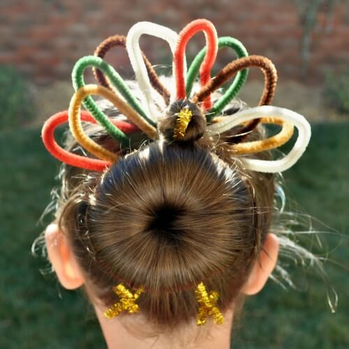 Adorable Thanksgiving Hair Accessories