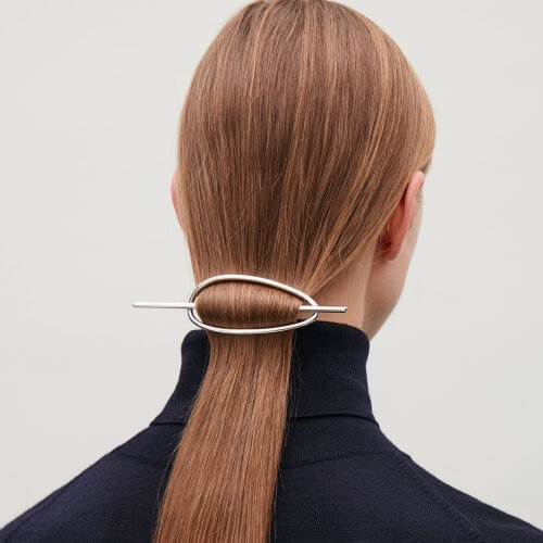 Artsy Low Ponytail Pins