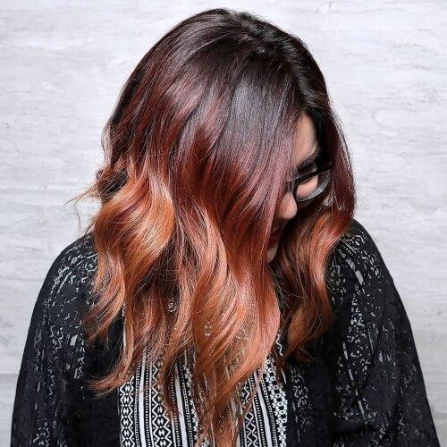 Auburn Color Melt