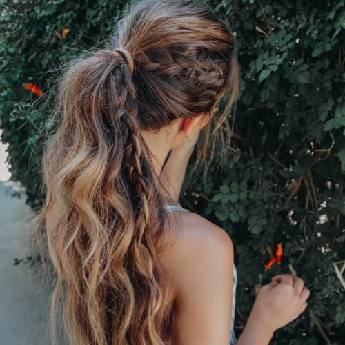 Boho Braid Curls