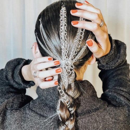 Chain Hair Accessories for Braids
