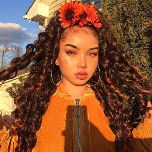 Flowery Hair Ties
