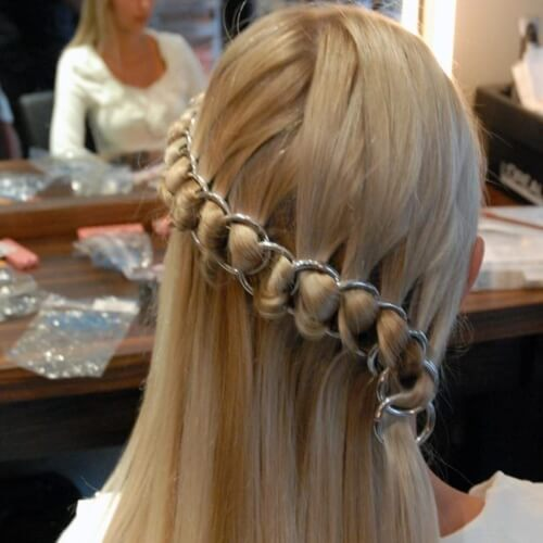 Link Chain Hair Accessories