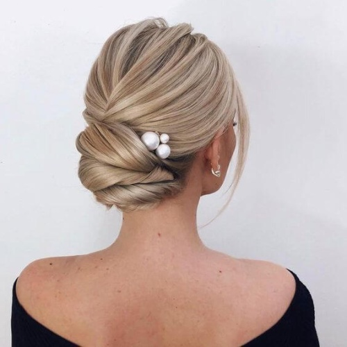 Pearl Pin Hair Accessories for Updos