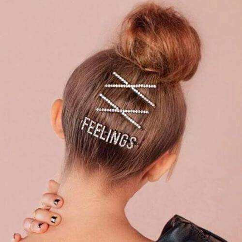 Rhinestone Statement Hair Accessories for Girls