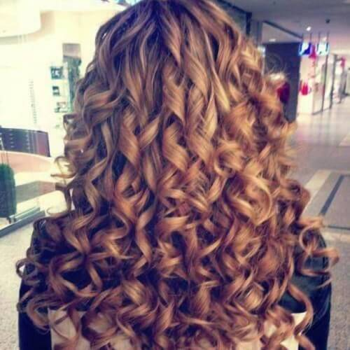 Ribbon Curls