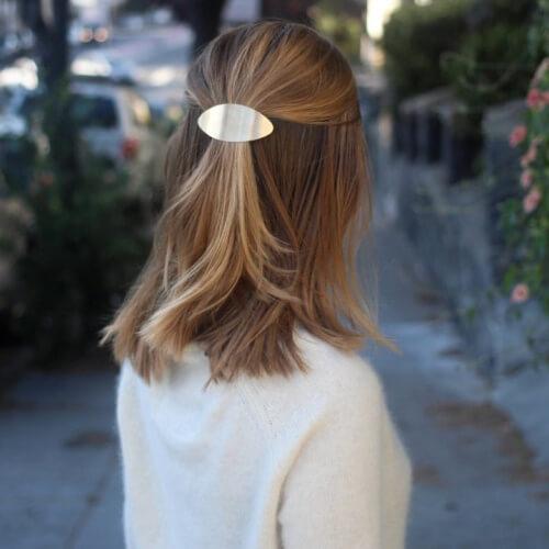 Solid Flat Hair Pins