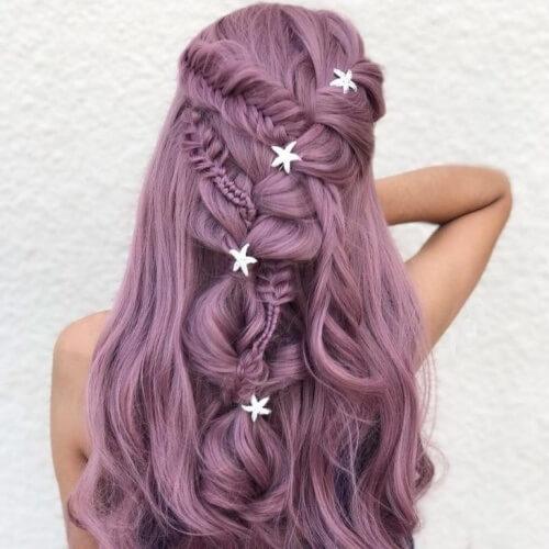 Starfish Mermaid Hair Accessories