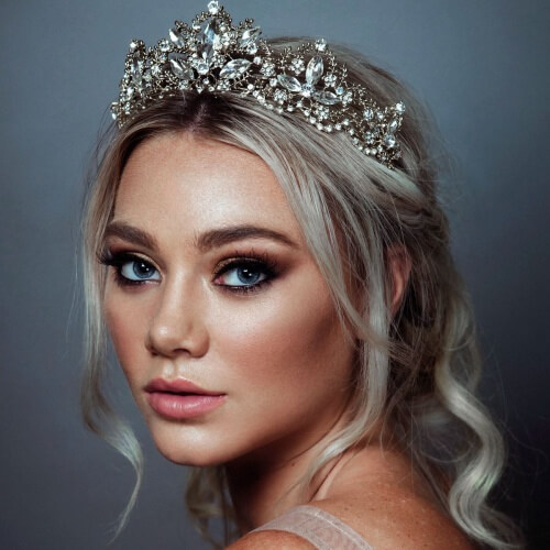 Tiara Headpiece Wedding Hair Accessories