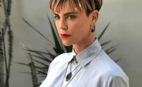 charlize theron celebrity hair changes