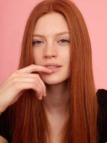 amber winter hair color ideas