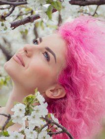 artic fox pink hair dye