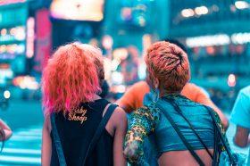 pink hair dye